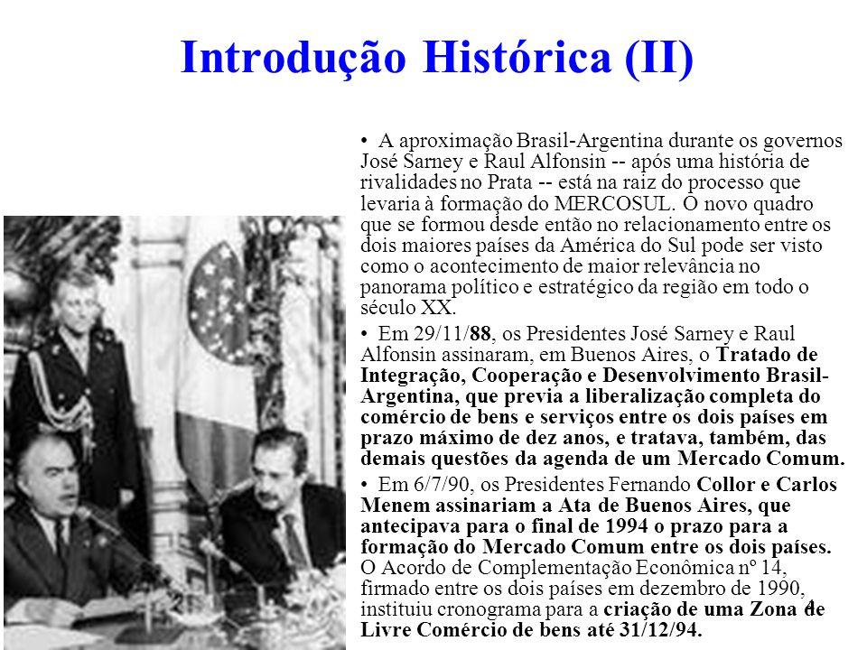Introdução Histórica (II)