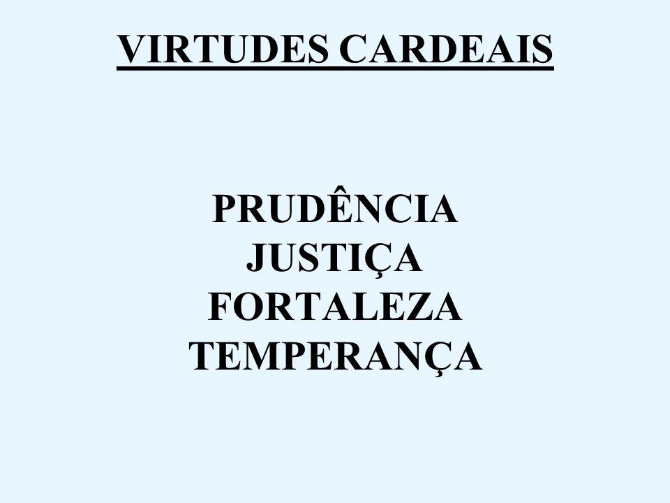 PRUDÊNCIA JUSTIÇA FORTALEZA TEMPERANÇA
