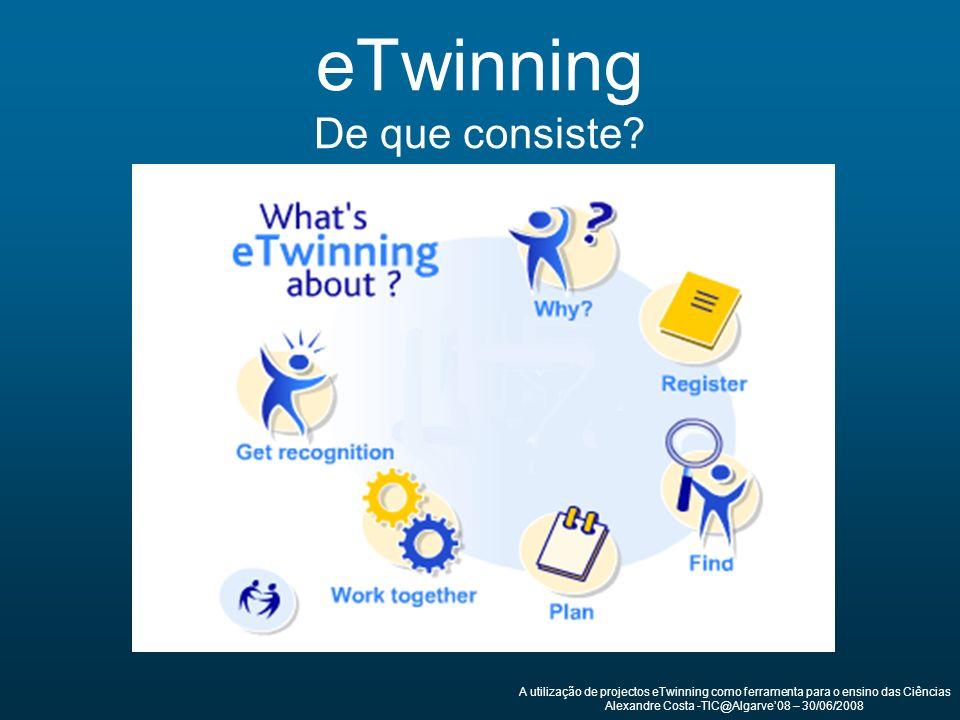 eTwinning De que consiste