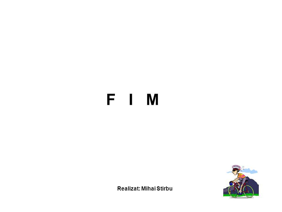 F I M Realizat: Mihai Stirbu