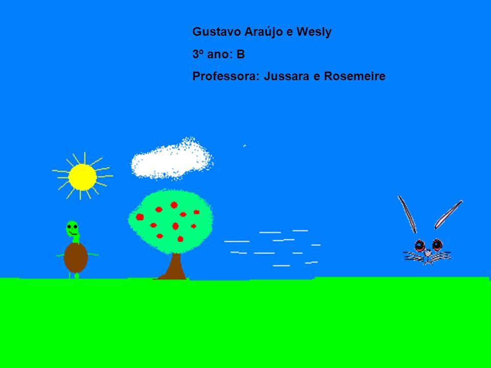 Gustavo Araújo e Wesly 3º ano: B Professora: Jussara e Rosemeire