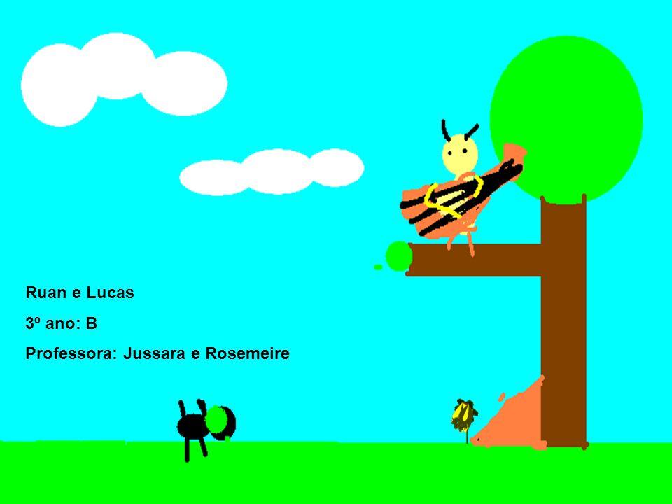 Ruan e Lucas 3º ano: B Professora: Jussara e Rosemeire