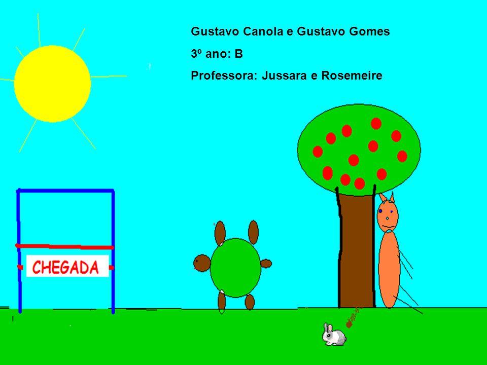 Gustavo Canola e Gustavo Gomes