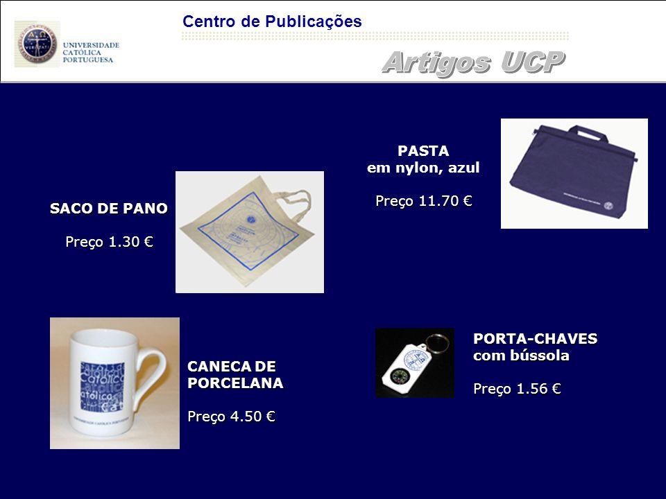 Artigos UCP Centro de Publicações PASTA em nylon, azul Preço 11.70 €