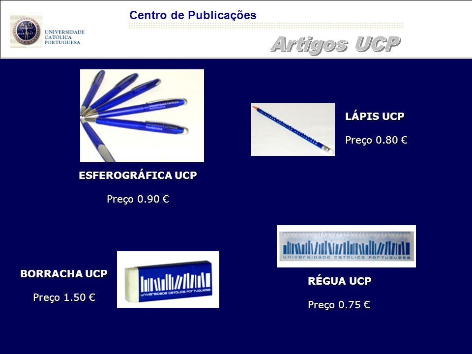 Artigos UCP Centro de Publicações LÁPIS UCP Preço 0.80 €