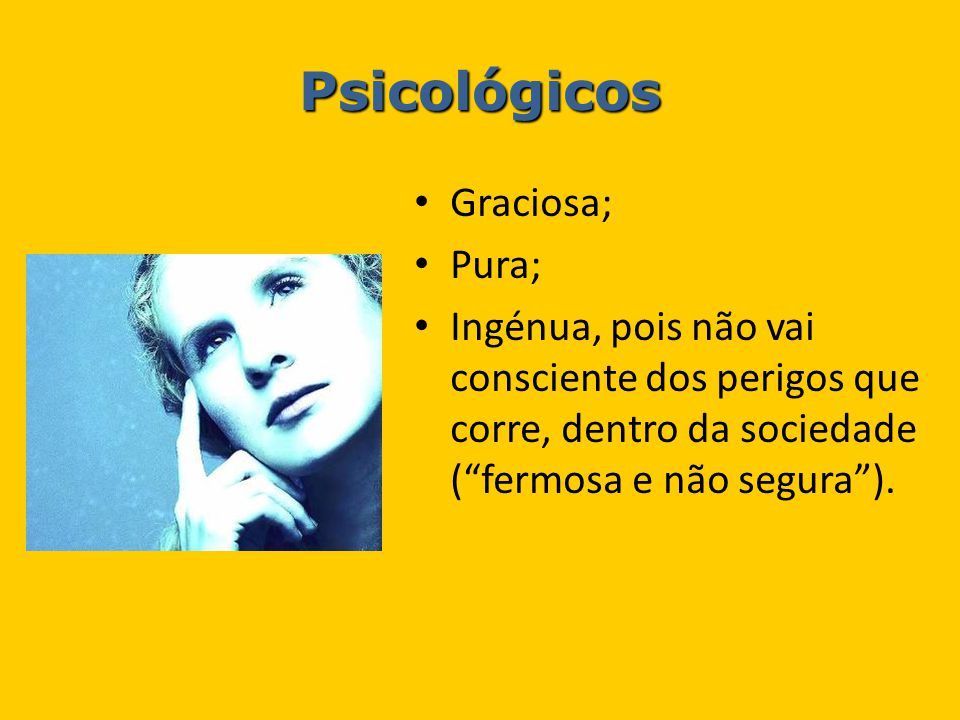 Psicológicos Graciosa; Pura;