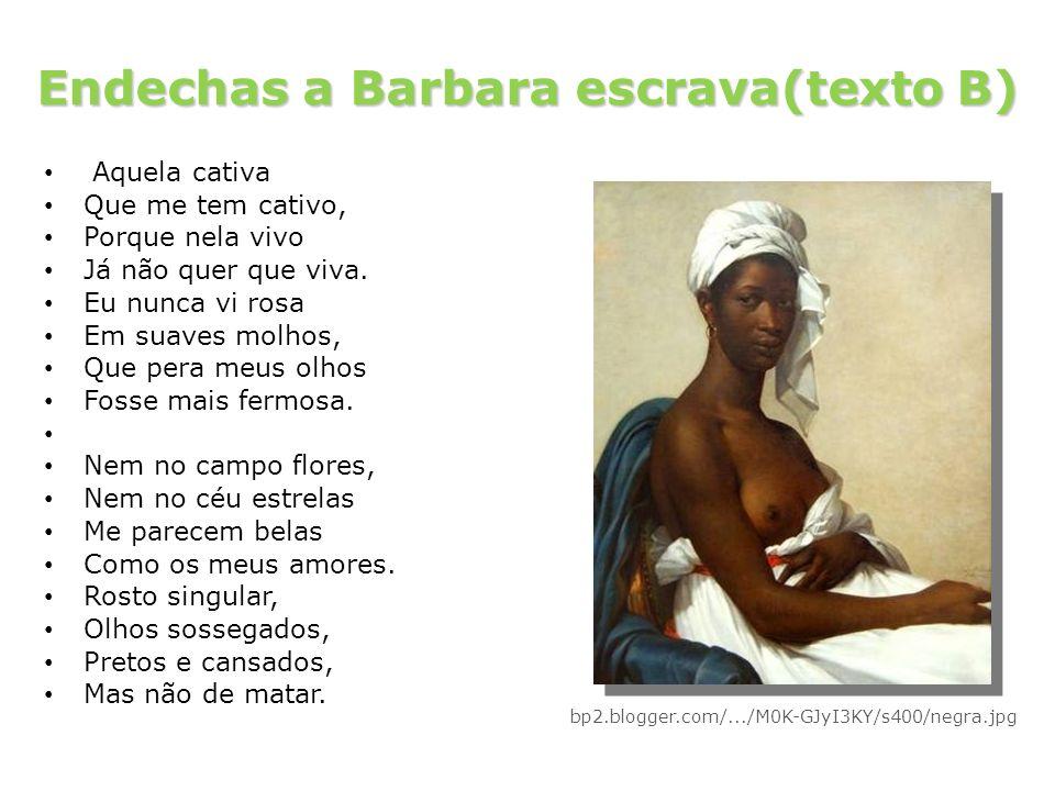 Endechas a Barbara escrava(texto B)