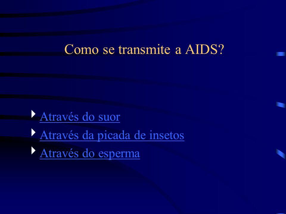 Como se transmite a AIDS