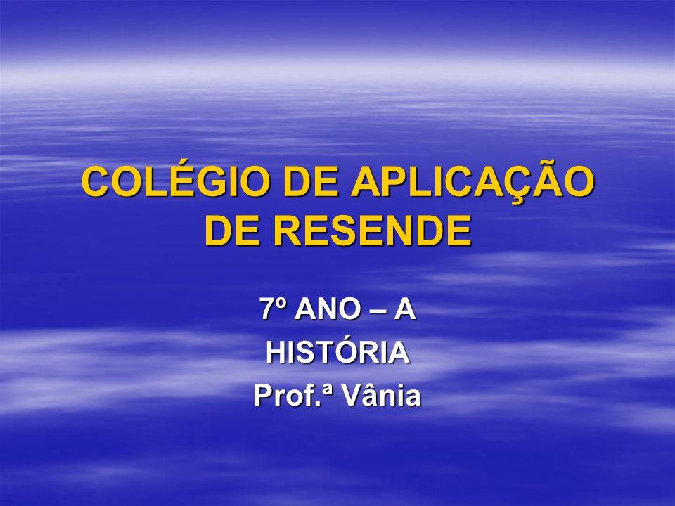 COLÉGIO DE APLICAÇÃO DE RESENDE