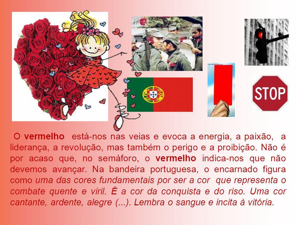 O vermelho está-nos nas veias e evoca a energia, a paixão, a liderança, a revolução, mas também o perigo e a proibição.