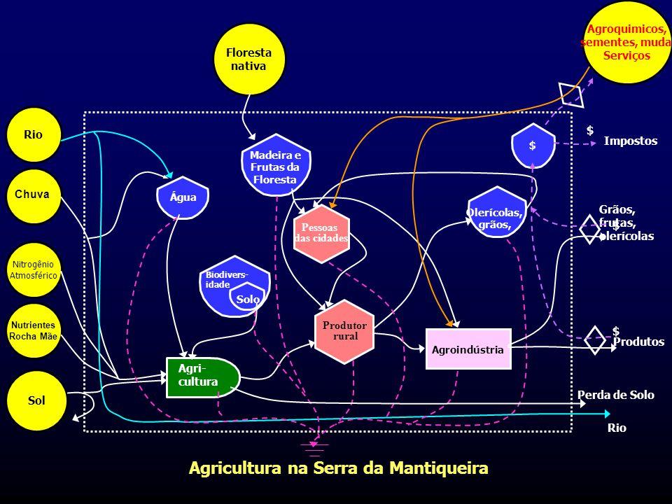 Agricultura na Serra da Mantiqueira