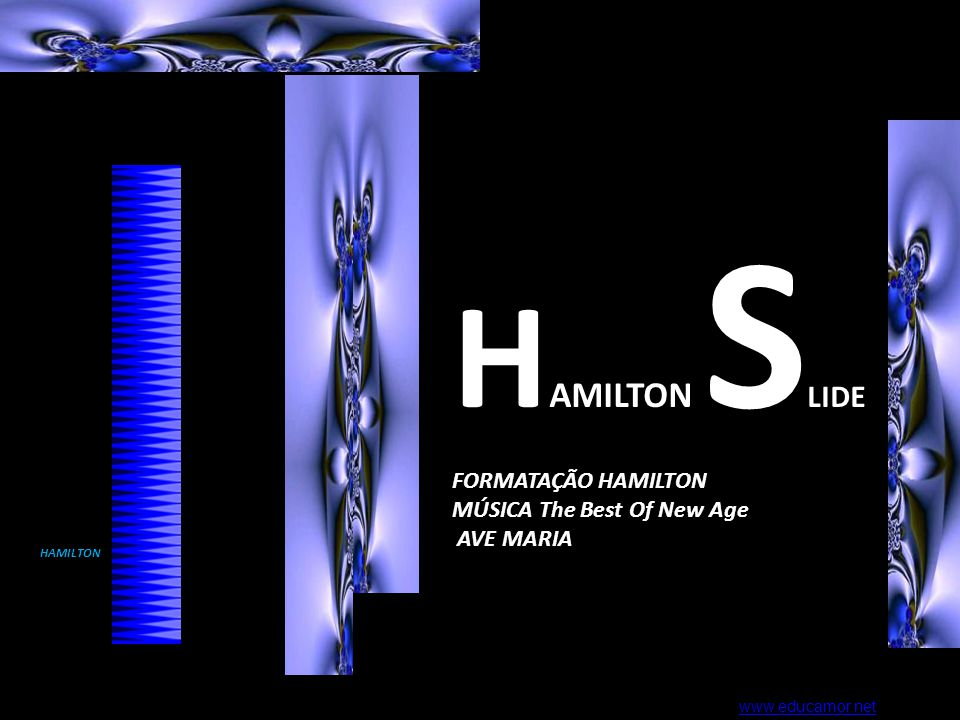 HAMILTON SLIDE FORMATAÇÃO HAMILTON MÚSICA The Best Of New Age