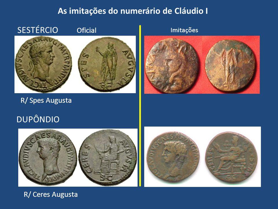 As imitações do numerário de Cláudio I