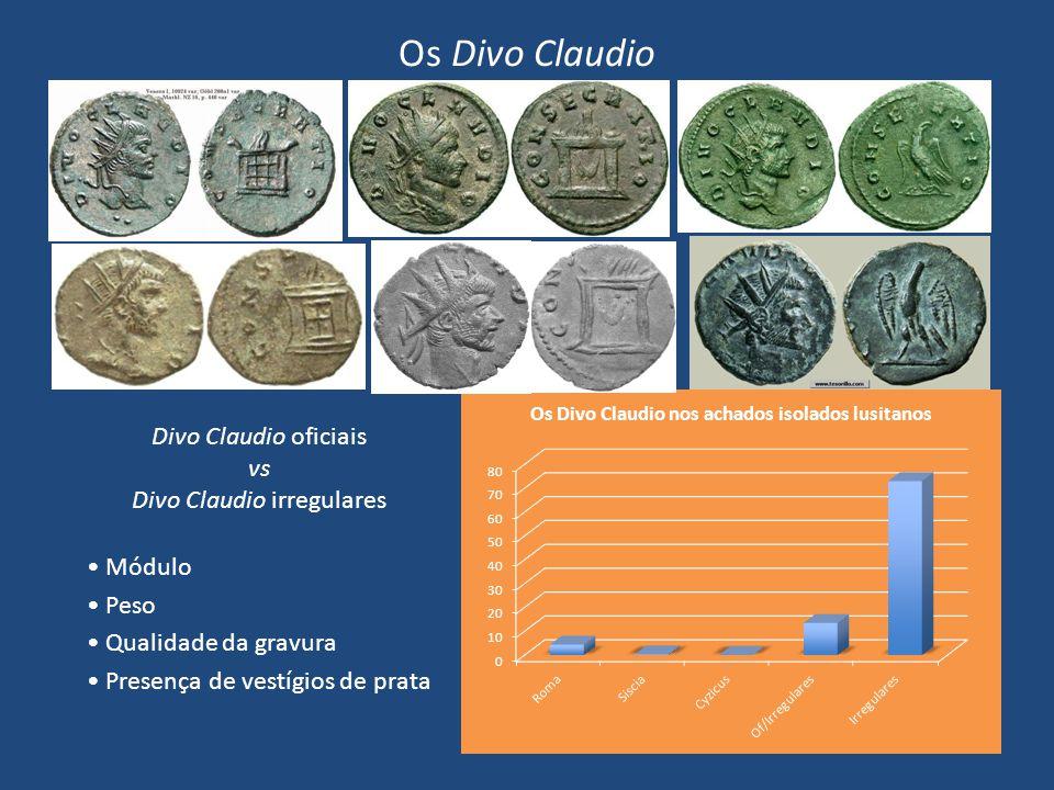 Divo Claudio irregulares