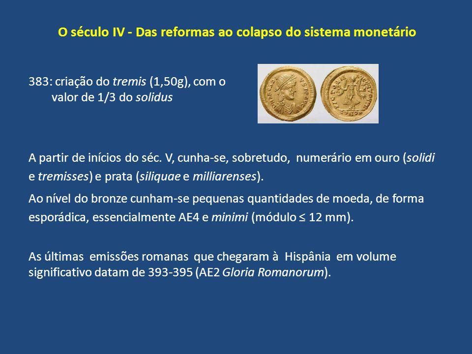 O século IV - Das reformas ao colapso do sistema monetário