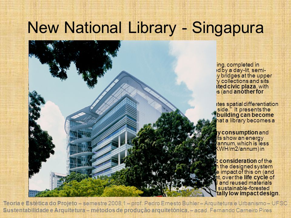 New National Library - Singapura