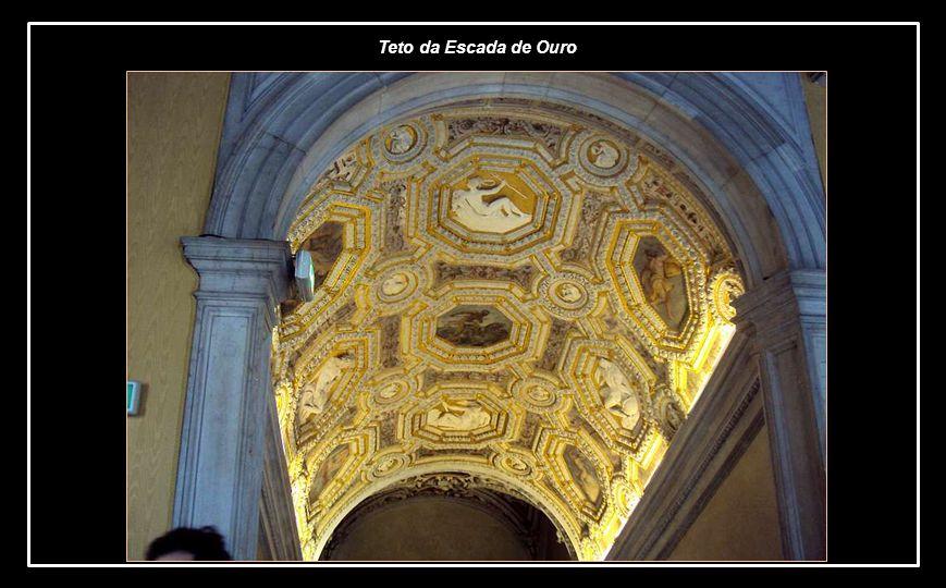Teto da Escada de Ouro