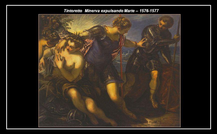Tintoretto Minerva expulsando Marte – 1576-1577