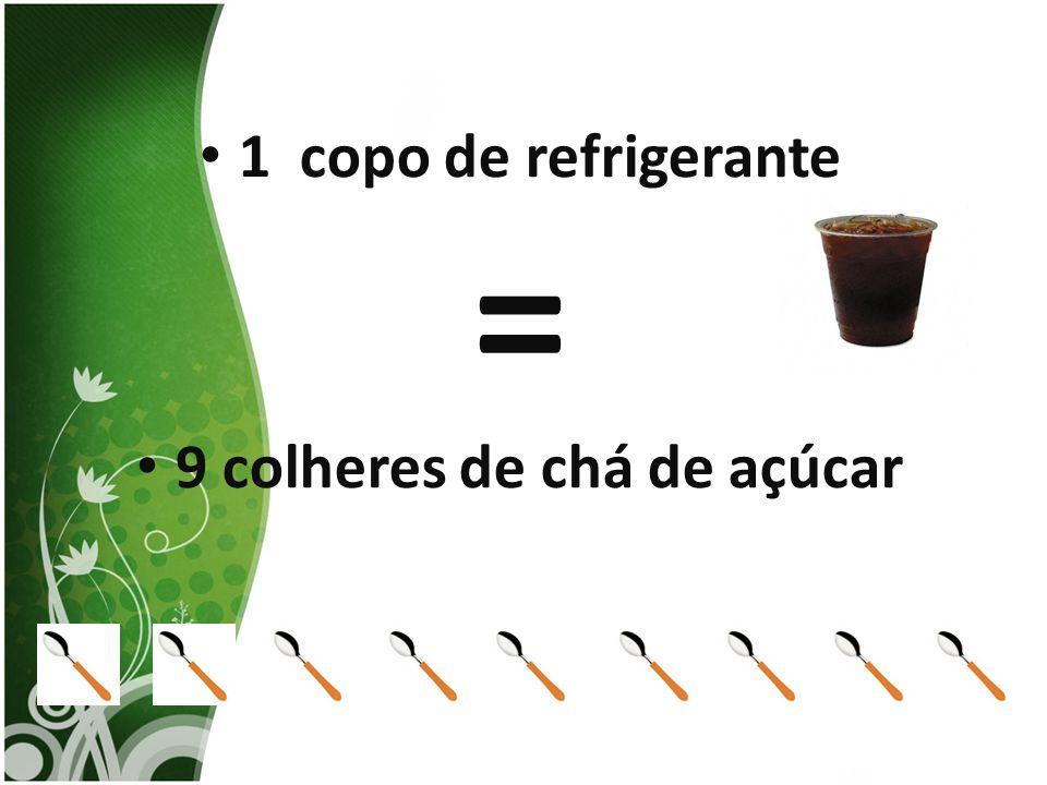 9 colheres de chá de açúcar
