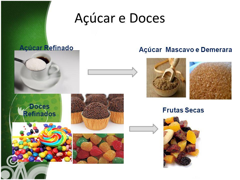 Açúcar Mascavo e Demerara