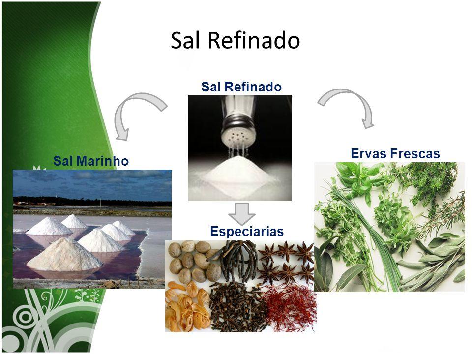 Sal Refinado Sal Refinado Ervas Frescas Sal Marinho Especiarias