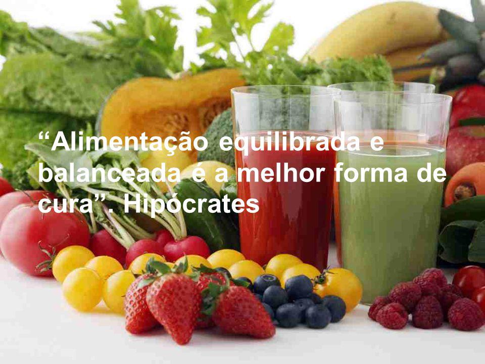 Alimentação equilibrada e balanceada é a melhor forma de cura