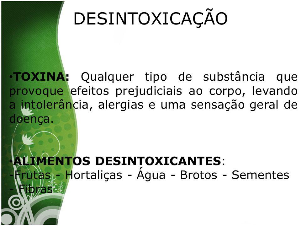 DESINTOXICAÇÃO