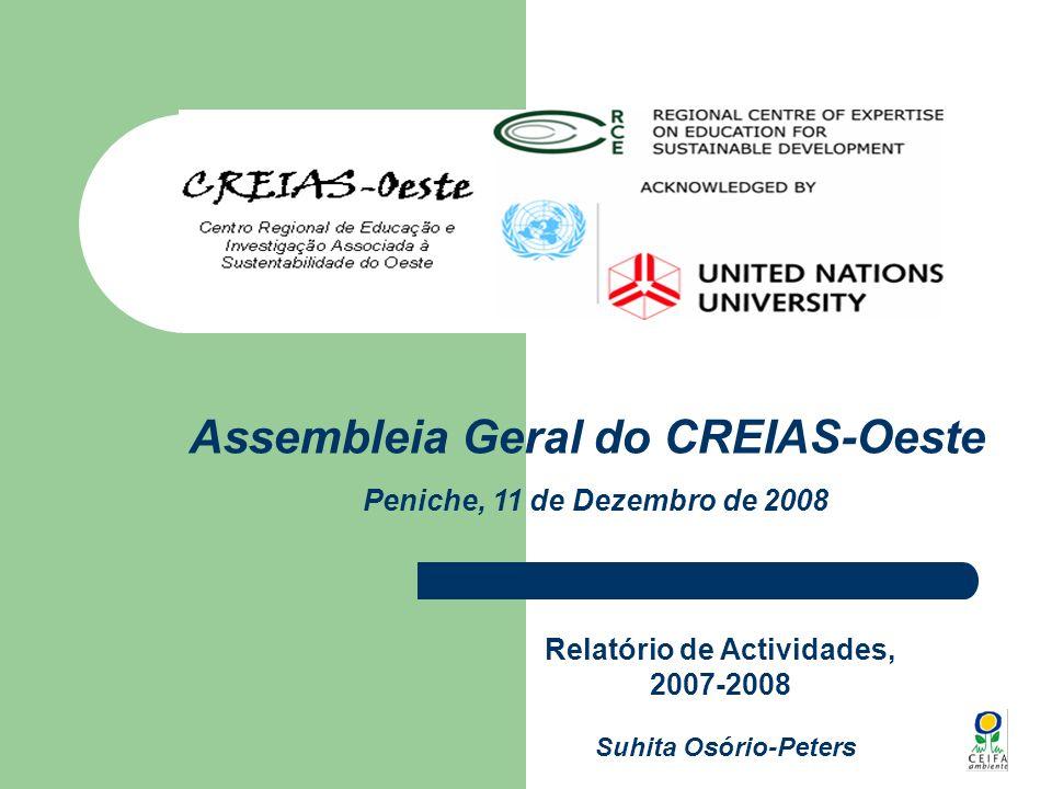 Relatório de Actividades, 2007-2008