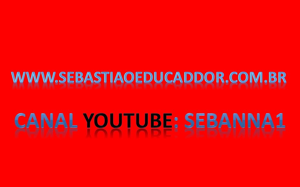 Canal youtube: sebanna1