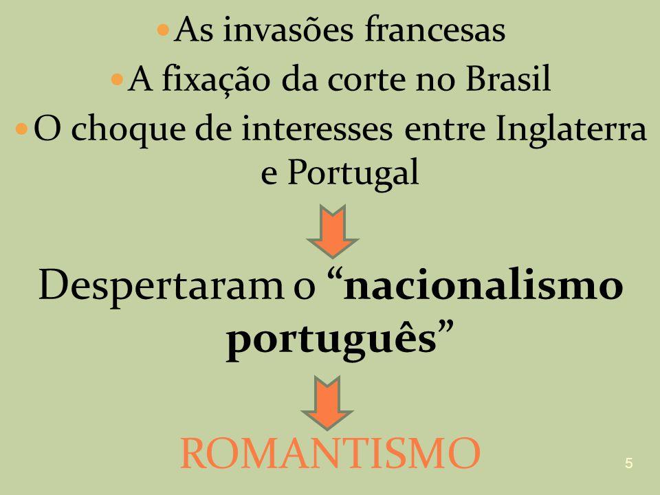 Despertaram o nacionalismo português