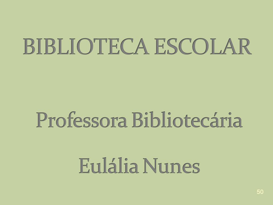 Professora Bibliotecária