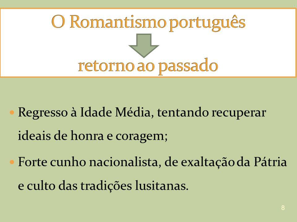 O Romantismo português retorno ao passado