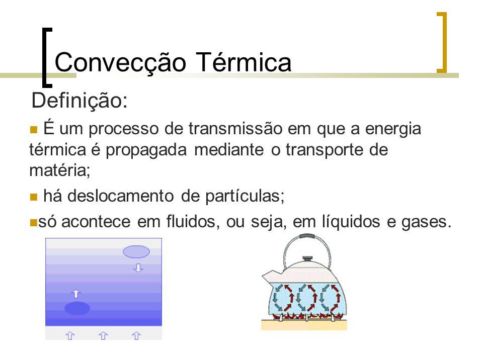 Convecção Térmica Definição: