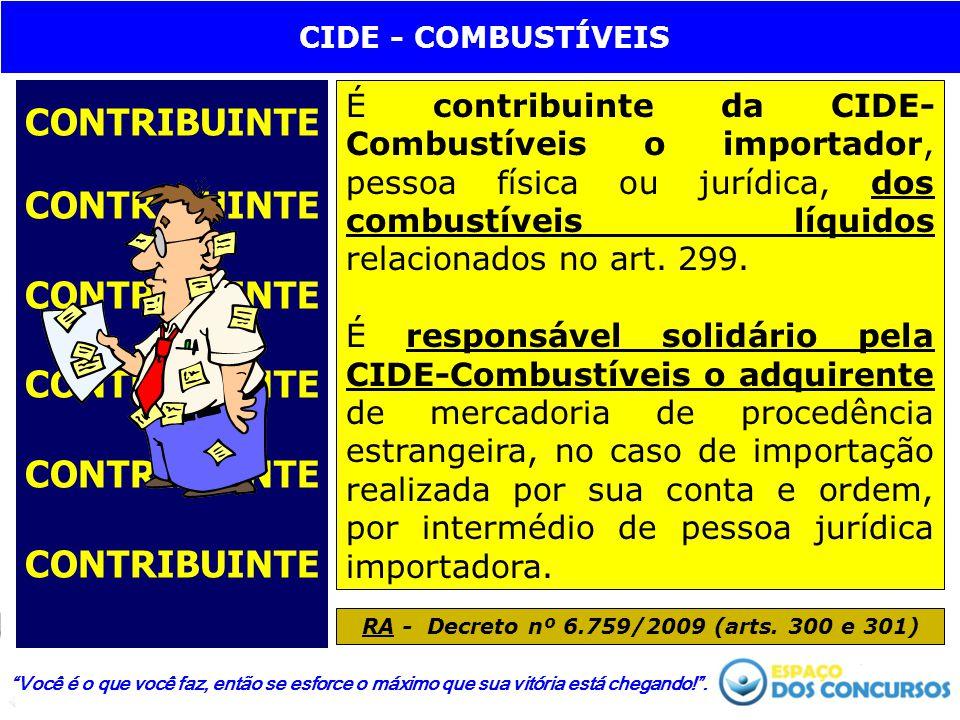 RA - Decreto nº 6.759/2009 (arts. 300 e 301)