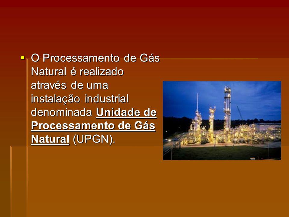 O Processamento de Gás Natural é realizado através de uma instalação industrial denominada Unidade de Processamento de Gás Natural (UPGN).