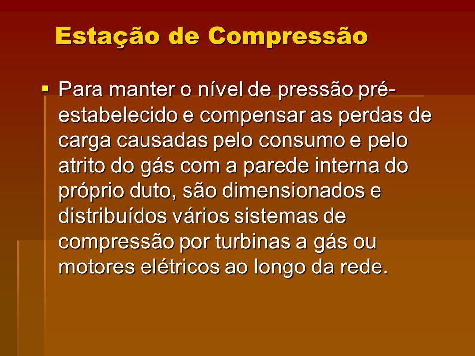 Estação de Compressão