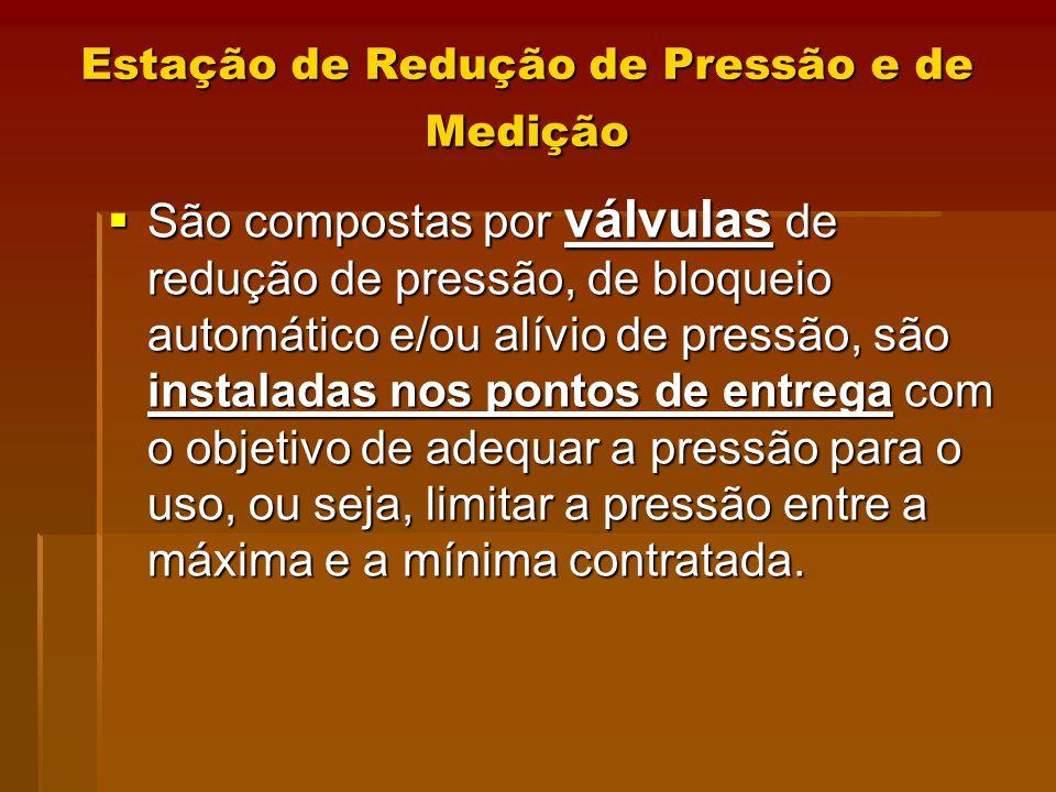 Estação de Redução de Pressão e de Medição
