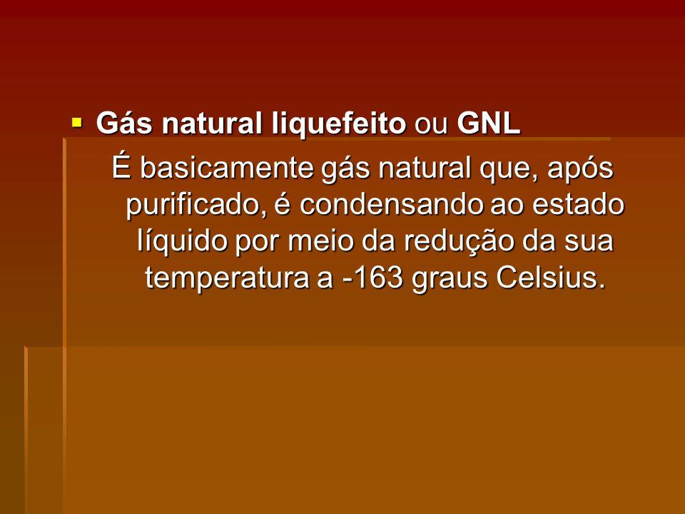 Gás natural liquefeito ou GNL