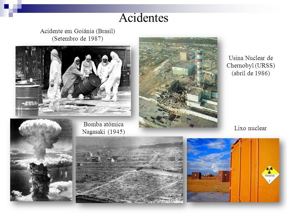 Acidentes Acidente em Goiânia (Brasil) (Setembro de 1987)