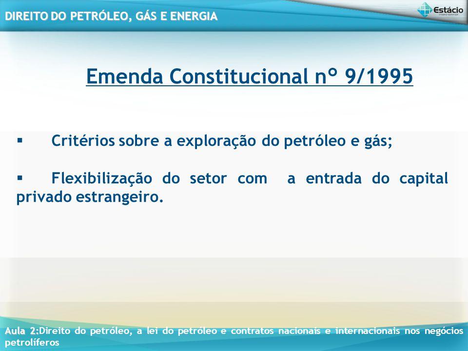 Emenda Constitucional n° 9/1995