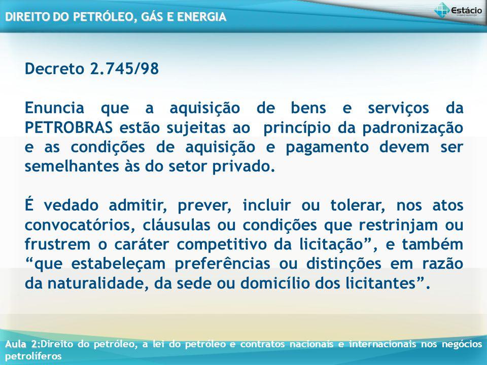 Decreto 2.745/98