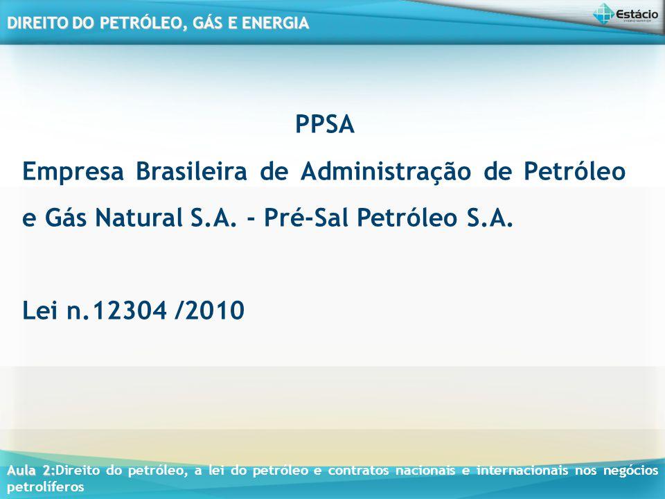 PPSA Empresa Brasileira de Administração de Petróleo e Gás Natural S.A.