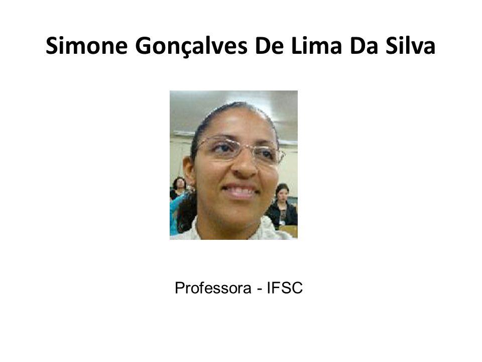 Simone Gonçalves De Lima Da Silva