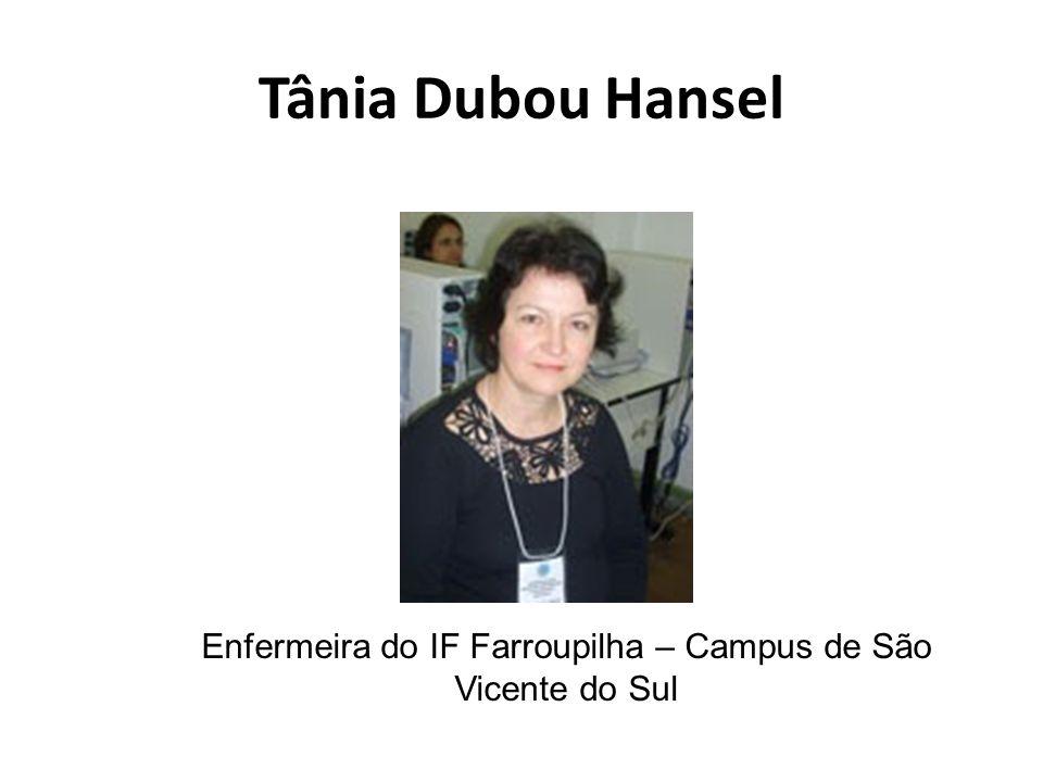 Enfermeira do IF Farroupilha – Campus de São Vicente do Sul