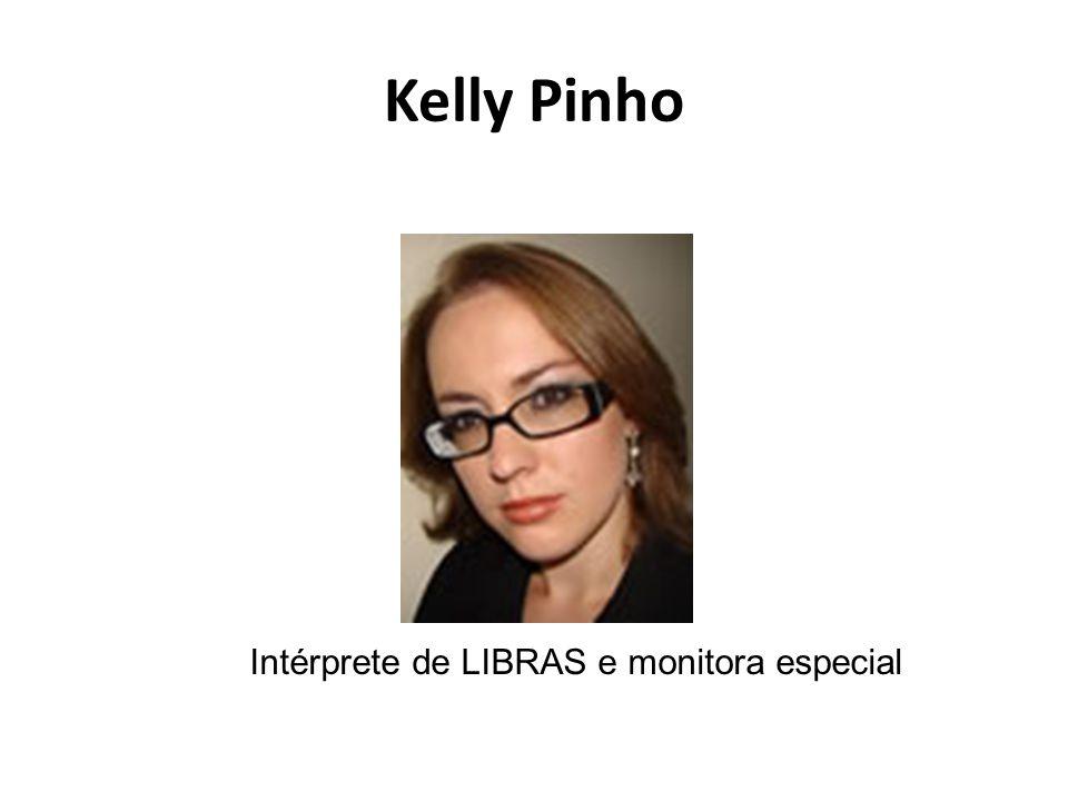 Intérprete de LIBRAS e monitora especial