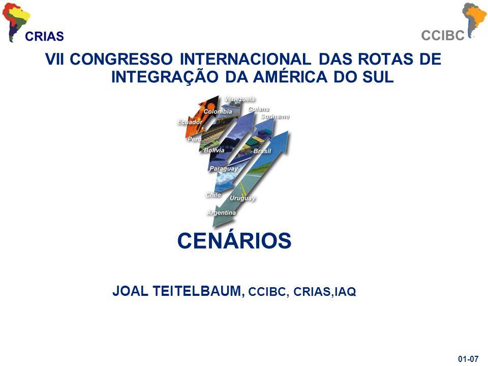 CENÁRIOS JOAL TEITELBAUM, CCIBC, CRIAS,IAQ