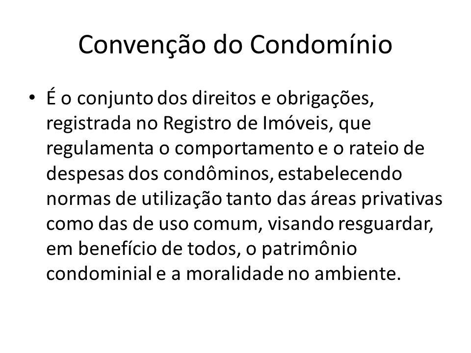 Convenção do Condomínio