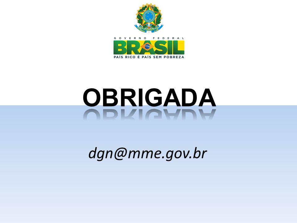 OBRIGADA dgn@mme.gov.br