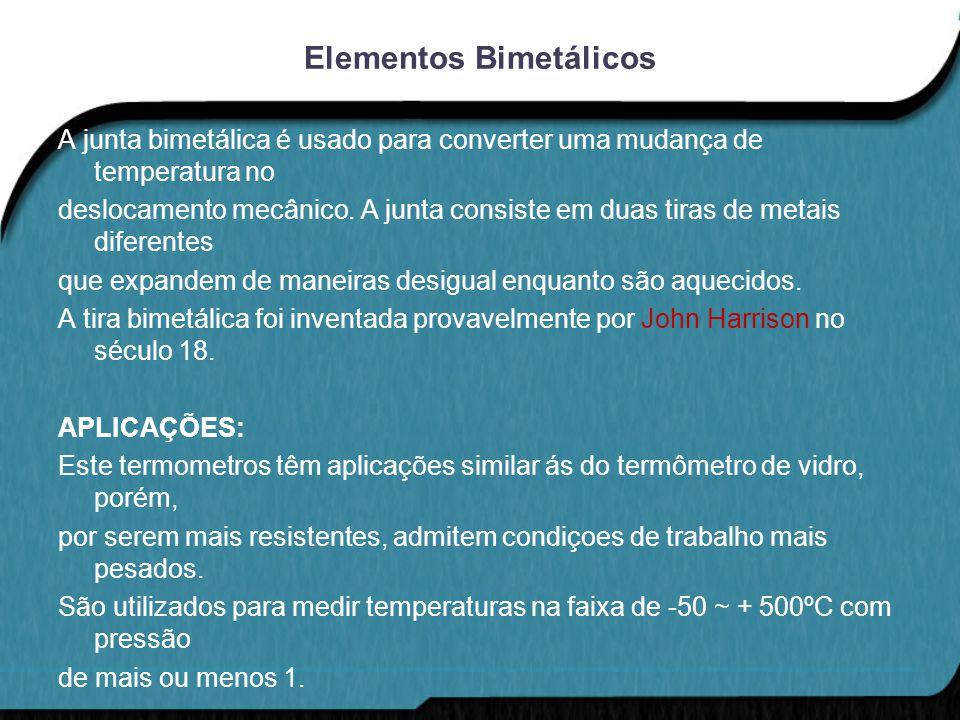 Elementos Bimetálicos