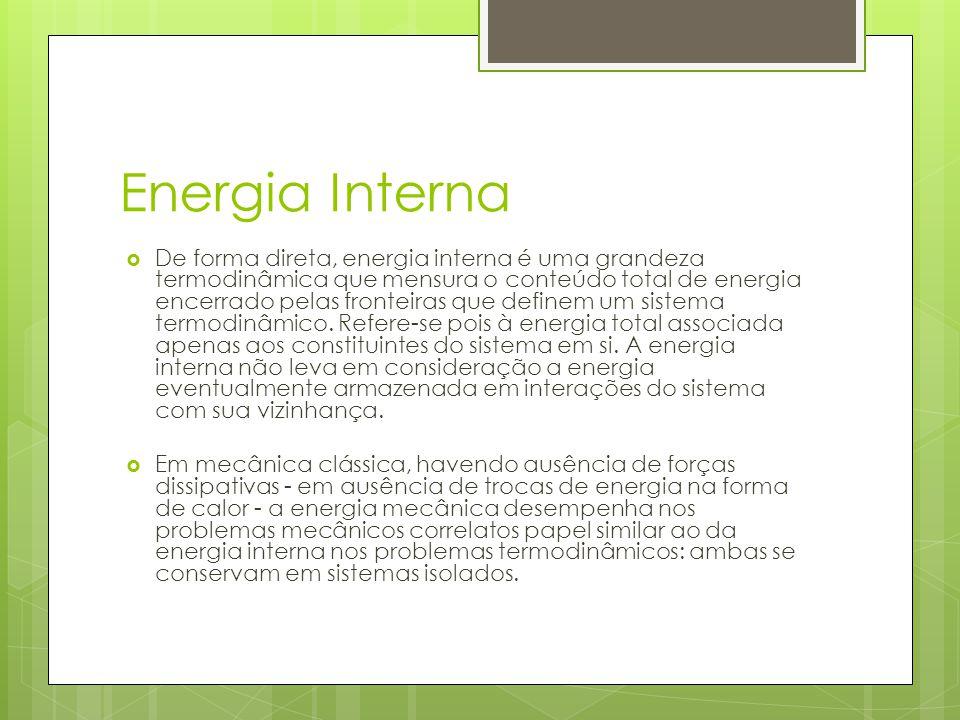 Energia Interna